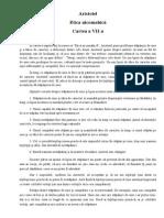 Aristotel - Etica Nicomahica, Cartea a VII-A