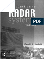IntroductiontoRadarSystems-Merrill I Skolnik III-EDITION