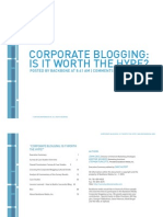 Blog Survey, BackboneMedia 2005