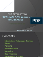 Technology Training to Libraries- InFO TECH.02