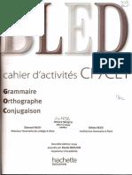 Bled Cahier d'Activités CP CE1