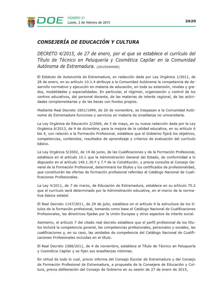 Encantador Ejemplos De Currículums De Peluquería Friso - Colección ...