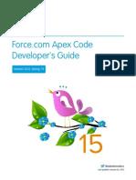 Salesforce Apex Language  ref