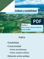 Conectividad y Estabilidad ecosistemas