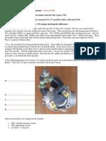 Ducati 2V Non Linear TPS Baseline Adjustment