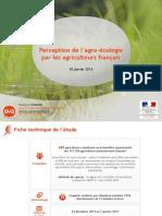 Étude MAAF/BVA sur la perception de l'agro-écologie par les agriculteurs français