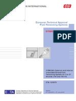 DSI DYWIDAG ETA-13-0979 DYWIDAG External and Internal Unbonded Strand PT-System