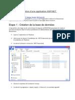 Création d'Une Application ASP
