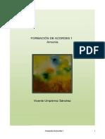 FORMACION DE ACORDES I