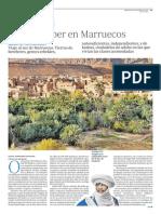 Ouarzazate, oasis bereber en Marruecos