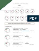 Zestaw Cwiczen Wprowadzajacych Zegary PDF