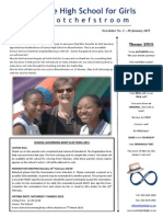 Potch Girls' Newsletter 1 2015