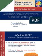 Alojando Servicios WCF en Servicios Windows