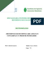 Referat Biotehnologii