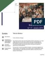 Newsletter CAMMP n.º 17 de Janeiro de 2015
