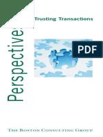 BCG Trusting Transactions Mar2005