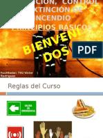 Prevencion, Control y Extincion de Incendios