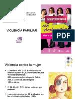 Taller Formativo Violencia Familiar