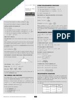 Topic 3 Revision Sheet