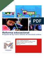 Monografía Reforma Educacional 2014