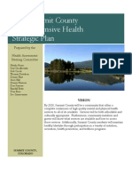 Comprehensive Health Strategic Plan