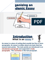 Ielts Writing - Introduction to Essay Structure
