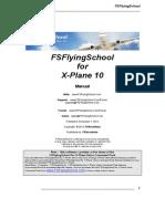 FS Flying School Manual X Plane Multiple