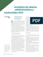 Estudio Descriptivo de Salarios de Cargos Administrativos y Asistenciales