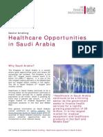 KSA Healthcare Opportunities