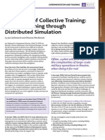 Future of Collective Training, Mission Training