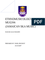 JAMAICAN SKA Ethnomusicology