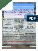 Garden Center Training Registration