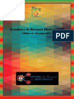 District Newsletter December 2014 (French)