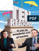 Get Into Teaching Brochure