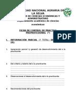 Ficha de Control de Practica Preprofesional