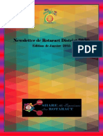 District Newsletter January 2015 (French)