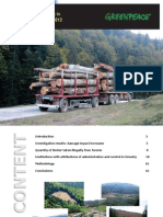 Illegal Logging Reports Romania 2012