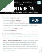 Regulation Montage '15