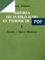 Schurerl Emil- Historia Del Pueblo Judio en Tiempos de Jesus Tomo I
