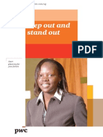 PWC Graduate Recruitment Brochure