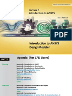 DM-Intro 14.5 L01 Introduction to ANSYS