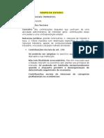 Direito Tributário - Contribuições Sociais