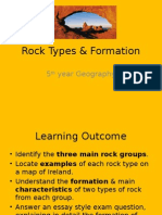 rock types  their formation 2012-13