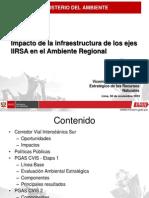 11 Rosario Gomez - Impacto de La Infraestructura de Los IIRSA en El Medioambiente Regional