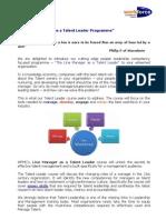 Talent Management - Talent Leadership Interventions [Appendix 1]