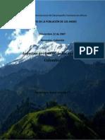 Aspectos Geofísicos de Los Andes de Colombia