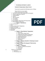 ITS Report Format