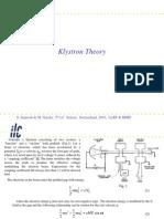 Drabrh Lecture on Klysron by Simrock Part 4.2a