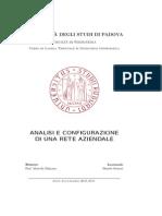 Analisi e Configurazione Di Una Rete Aziendale