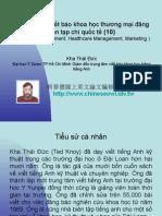 Vietnam 2.40:Tổ chức lớp viết báo khoa học thương mại đăng trên tạp chí quốc tế (10)